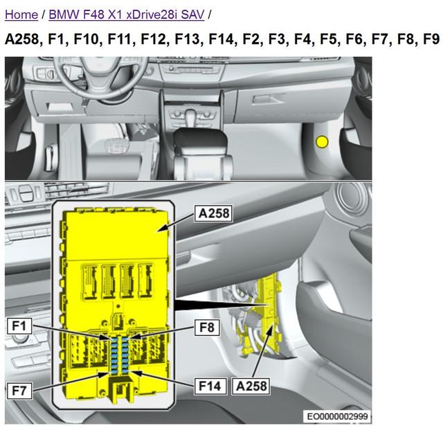 Location of F14 fuse (BDC fuse box) | BimmerFest BMW Forum | Bmw Fuse Box Problem |  | BimmerFest