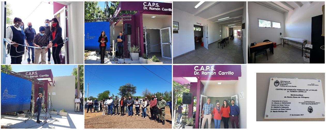 """Más obras, mejores servicios: Se inauguró el nuevo Centro de Salud """"Dr. Ramón Carrillo"""" en el Barrio Brasil"""