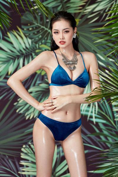 candidatas a the miss globe 2020. final: 12 nov. China