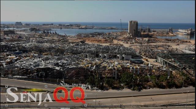 Asa di Balik Suara Detak Jantung di Bawah Puing Ledakan Beirut Lebanon