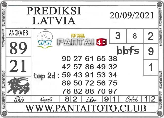 PREDIKSI TOGEL LATVIA PANTAI4D 20 SEPTEMBER 2021