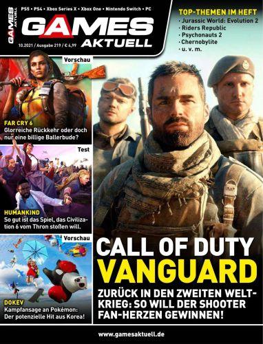 Cover: Games Aktuell Magazin No 10 Oktober 2021