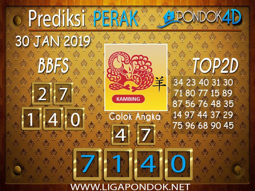 Prediksi Togel PERAK PONDOK4D 30 JANUARI 2019