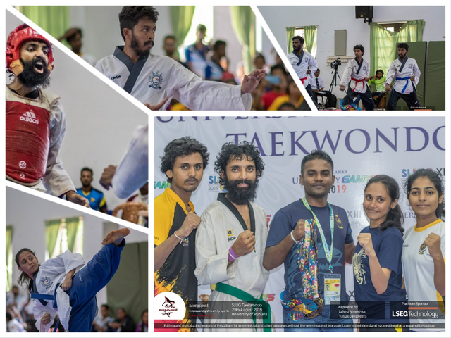 University of Moratuwa Triumphs in Taekwondo