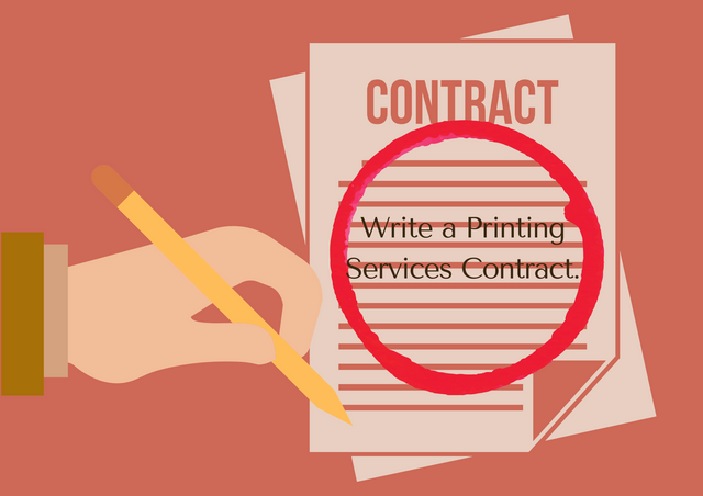 Write-a-Printing-Services-Contract