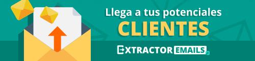 Extractor Emails - Llega a tus potenciales clientes