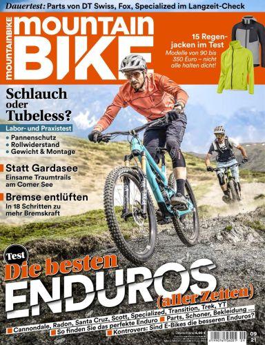 Cover: Mountainbike Magazin No 09 2021