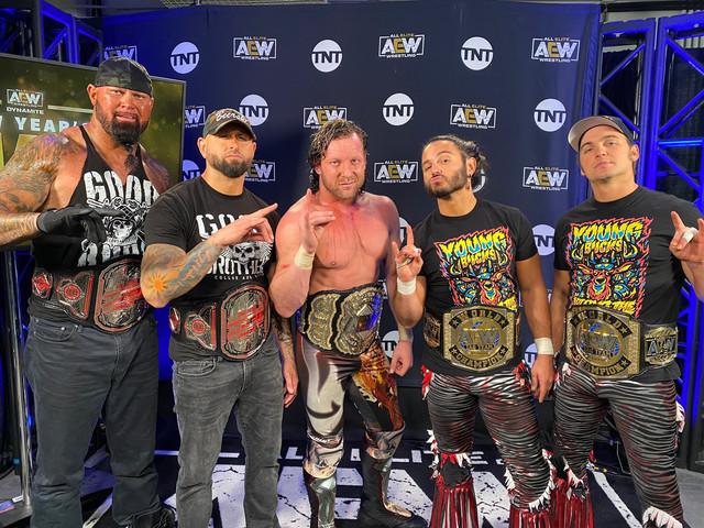 Too Sweet Bullet Club en AEW New Years Smash