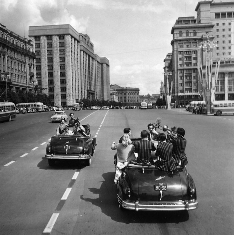 жизнь советской эпохи в фотографиях 50