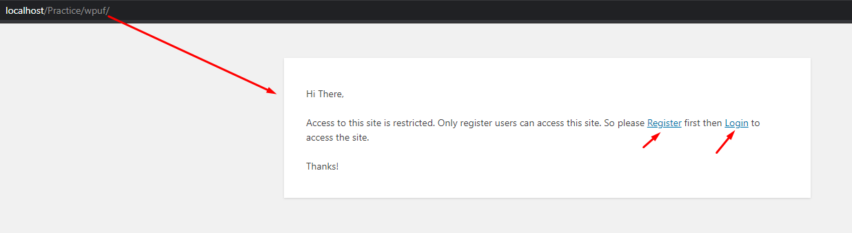 How to restrict the entire WordPress site by excluding a few essential pages 4