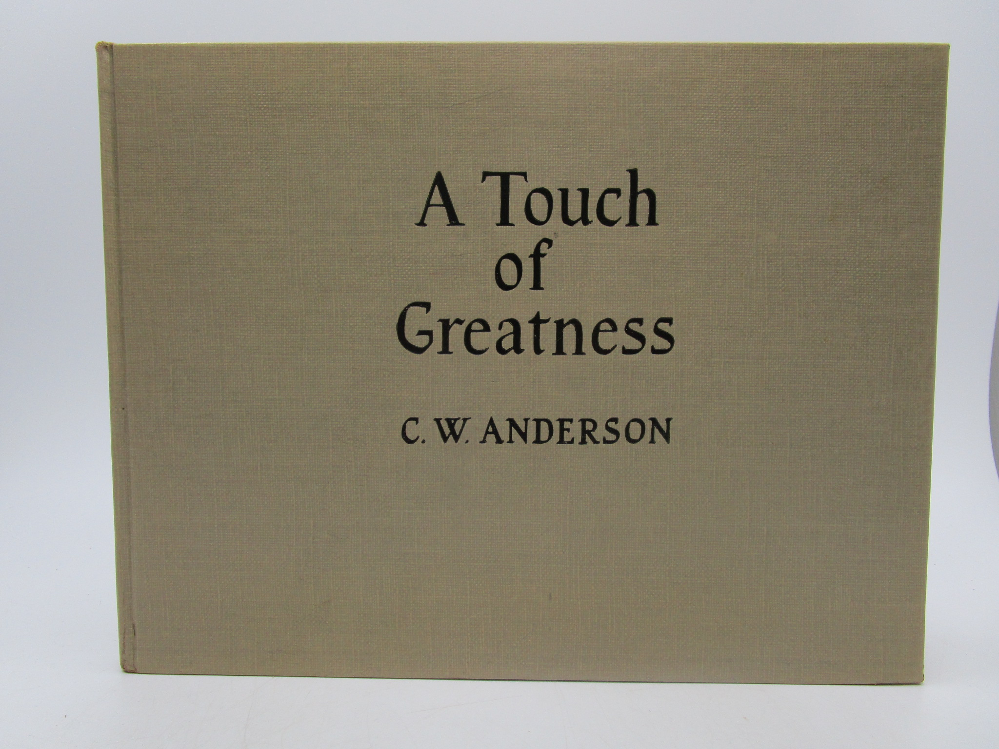 Image for A Touch of Greatness (First Edition)