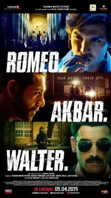 Download Romeo Akbar Walter 2019 Hindi Movie 480p 400MB   820p 1GB