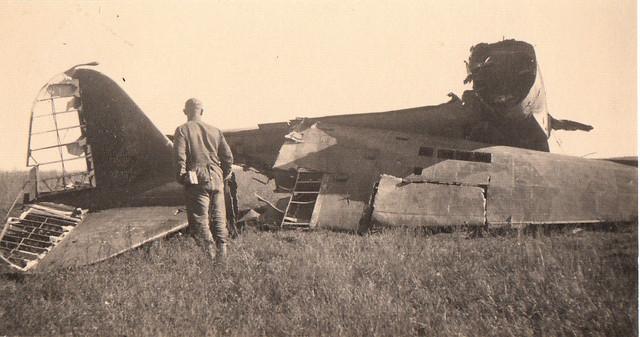 Foto-Technik-abgest-rztes-russ-Flugzeug-2