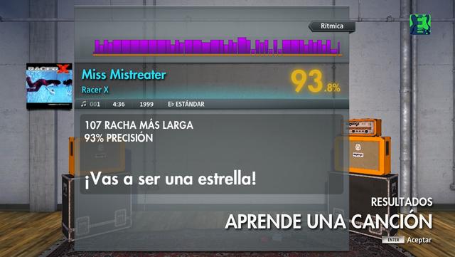 Miss Mistreater Rhythm