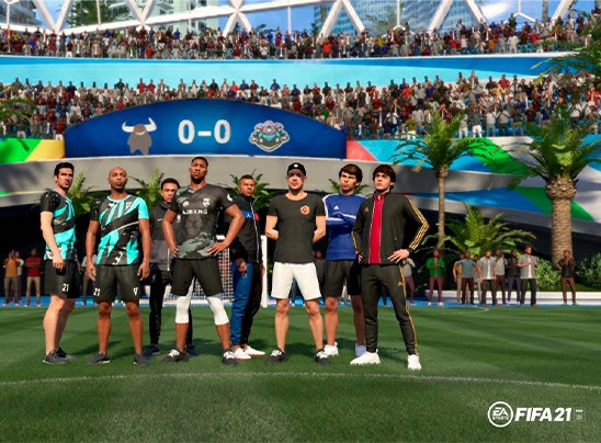 FIFA 21 ANUNCIA ACTUALIZACIONES DE CONTENIDO Y TALENTOS JUGABLES PARA VOLTA, INCLUYENDO A DIPLO Y ANTHONY JOSHUA