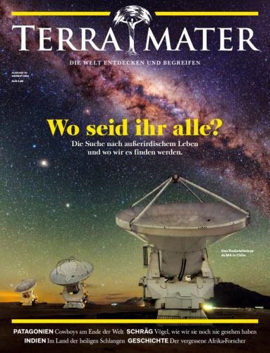 Cover: Terra Mater Magazin Die Welt entdecken und begreifen No 04 2021