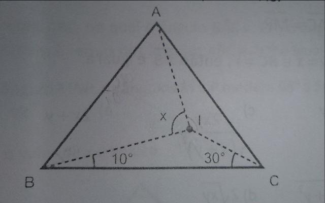 Ângulos em um triângulo isósceles Image
