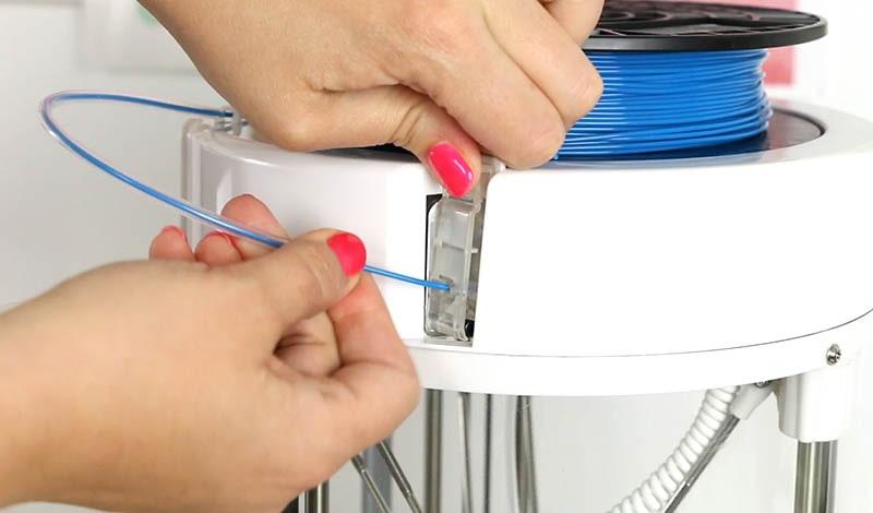 Loding Filament for 3D printer
