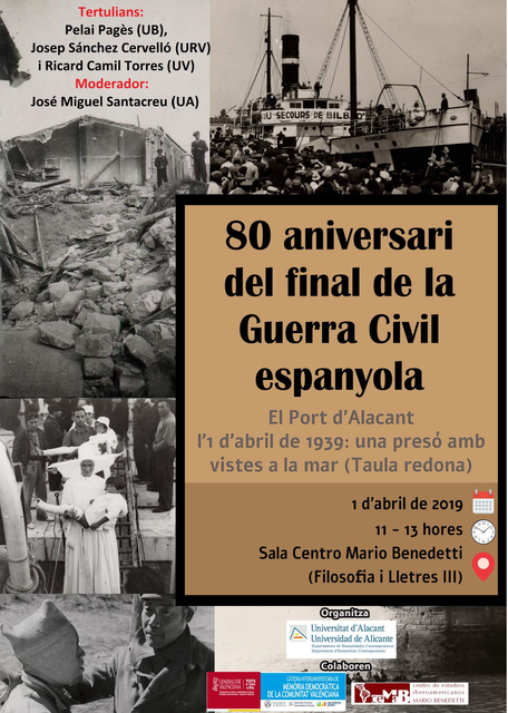 80 aniversari del final de la Guerra Civil espanyola