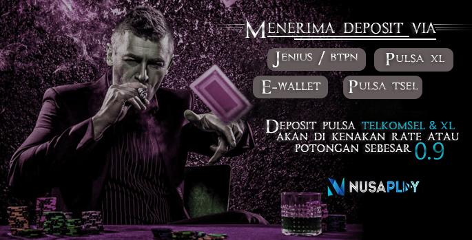 Nusaplay Situs Judi Online Bandar Judi Deposit Pulsa