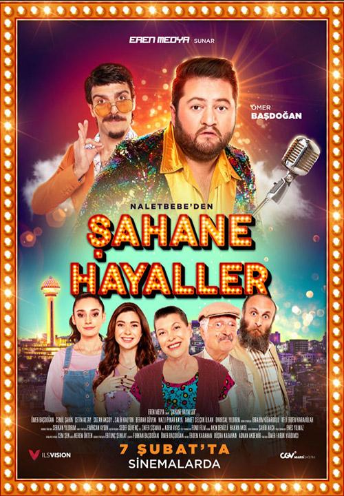Şahane Hayaller | 2020 | Yerli Film | HDRip | XviD | m720p - m1080p | HDTV | Tek Link