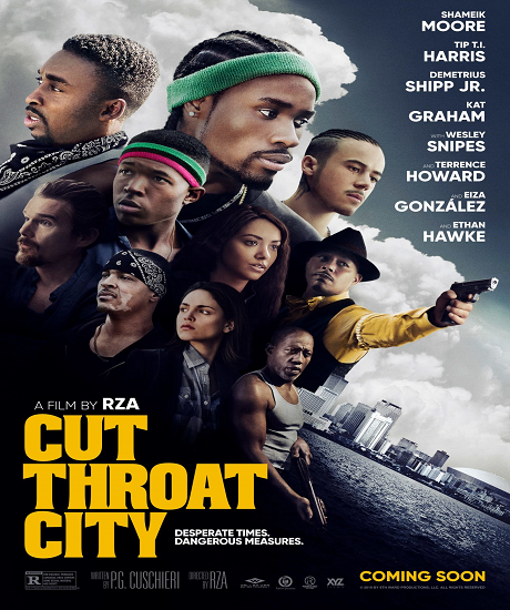 Suç Şehri Cut Throat City 2020 TR 720p Web-DL x264 AC3 Torrent İndir