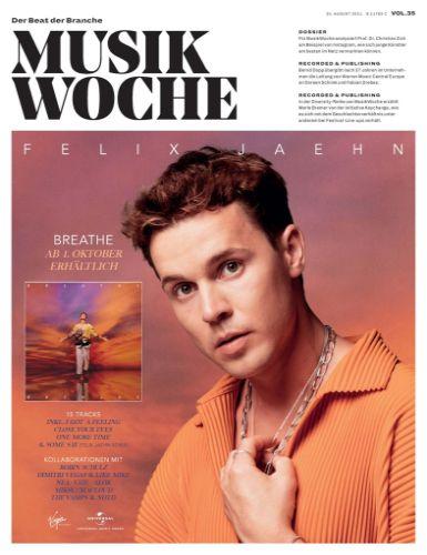 Cover: Musikwoche Fachmagazin No 35 vom 30  August 2021