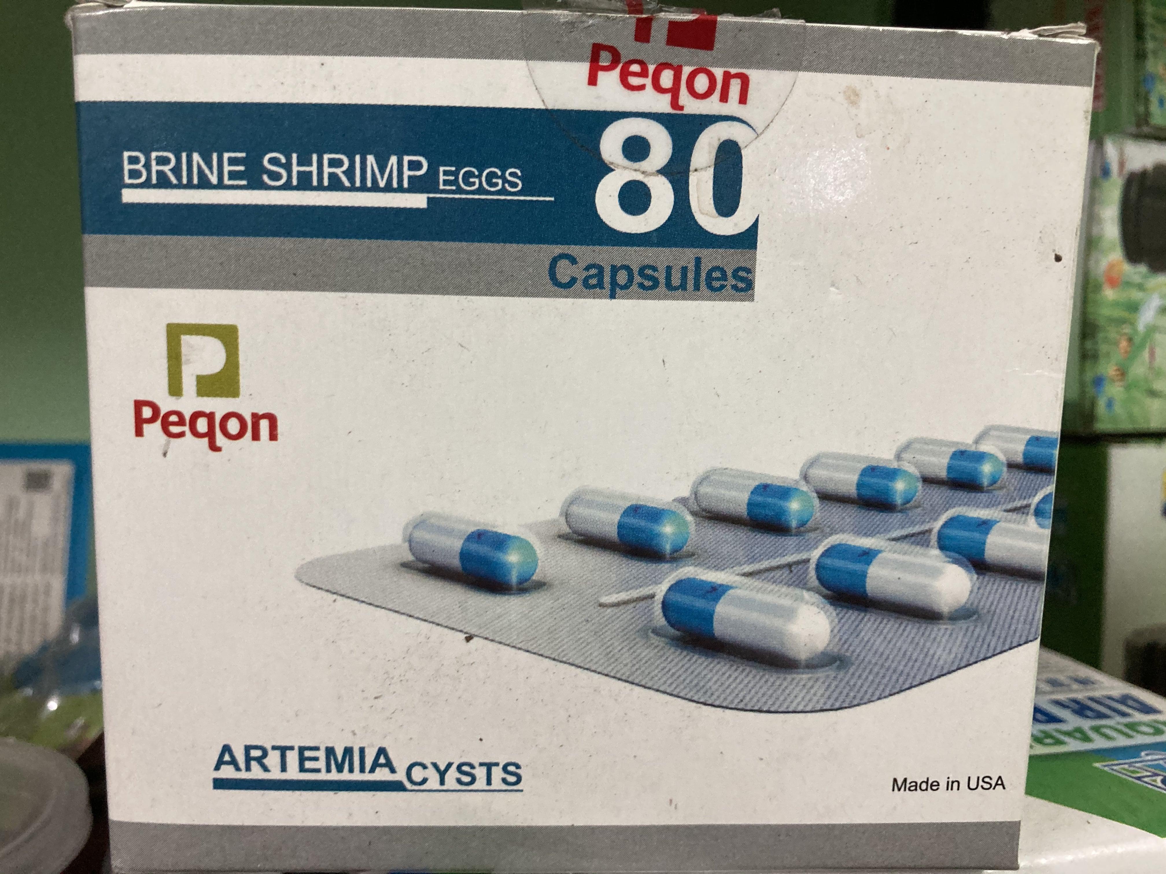 Peqon Brine shrimp eggs