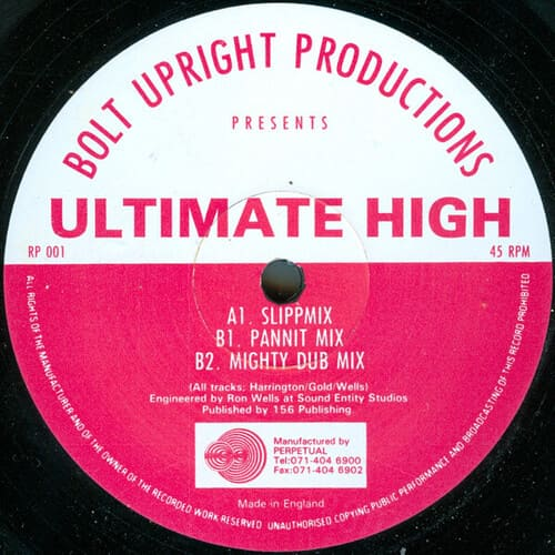Download Bolt Upright Productions - Ultimate High mp3