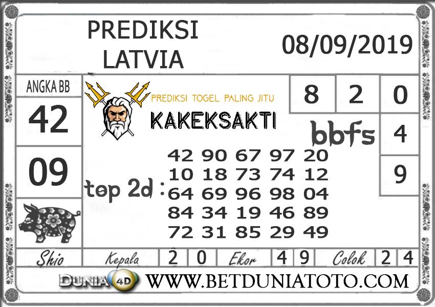 """Prediksi Togel """"LATVIA"""" DUNIA4D 08 SEPTEMBER 2019"""