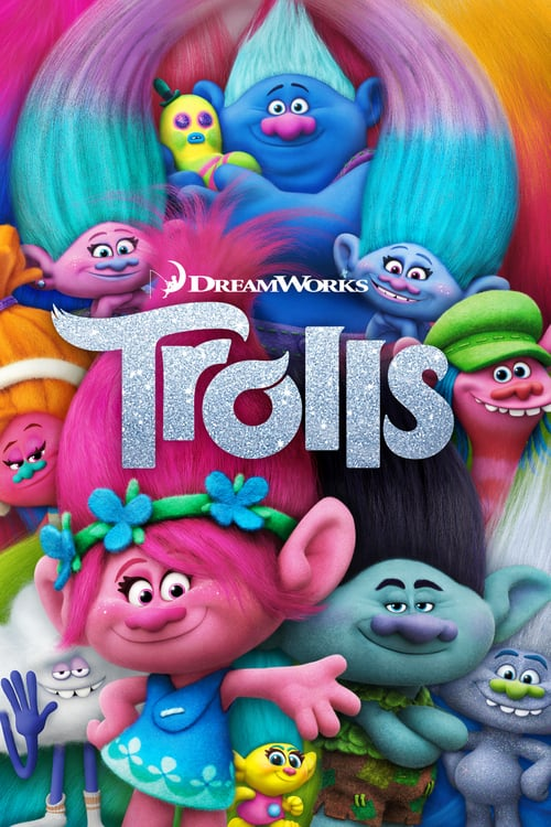 Trolls 2016 Hindi Dubbed 720p BluRay ESubs 700MB | 350MB Download