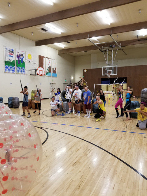 Archery Tag and Bubble Soccer Event hosted by AirballingLA in West Covina
