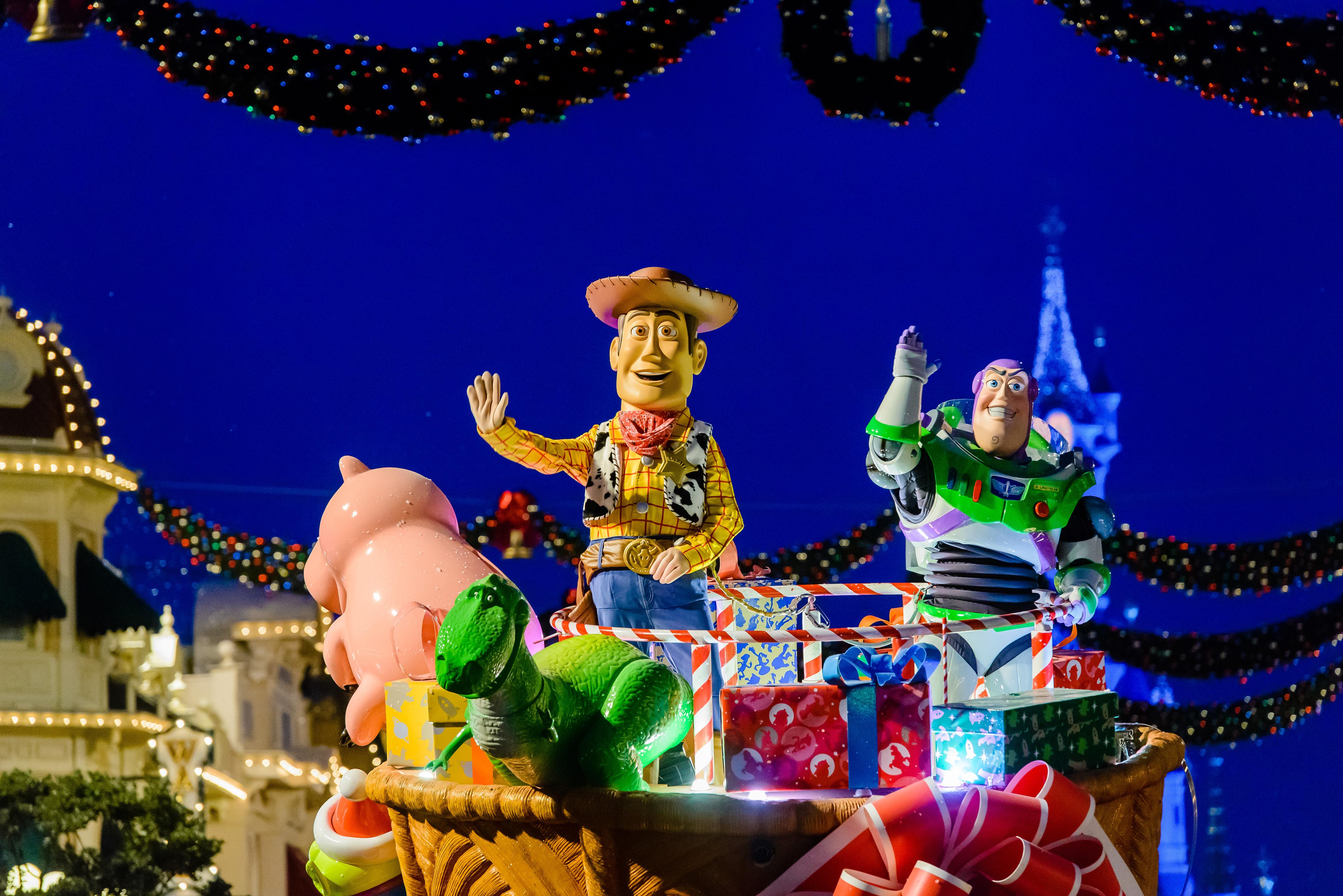 New Year's Eve Parade Disneyland Paris