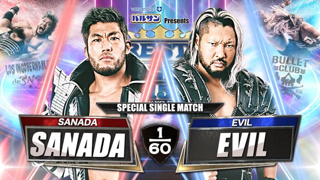 SANADA vs. EVIL  Wrestle Kingdom 15 Online