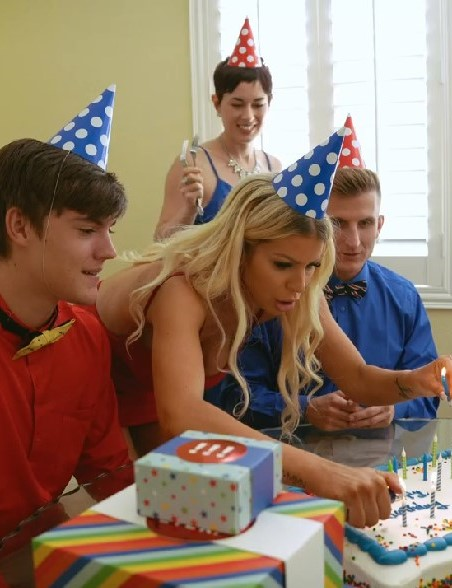 18+ Birthday Party Mom Swap (2021) Supper Hot XXX 720p HDRip x265 AAC Download