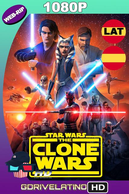 Star Wars: The Clone Wars (2008-2020) Temporada 07 [12/12] WEBRIP x265 1080p Latino-Castellano-Inglés MKV