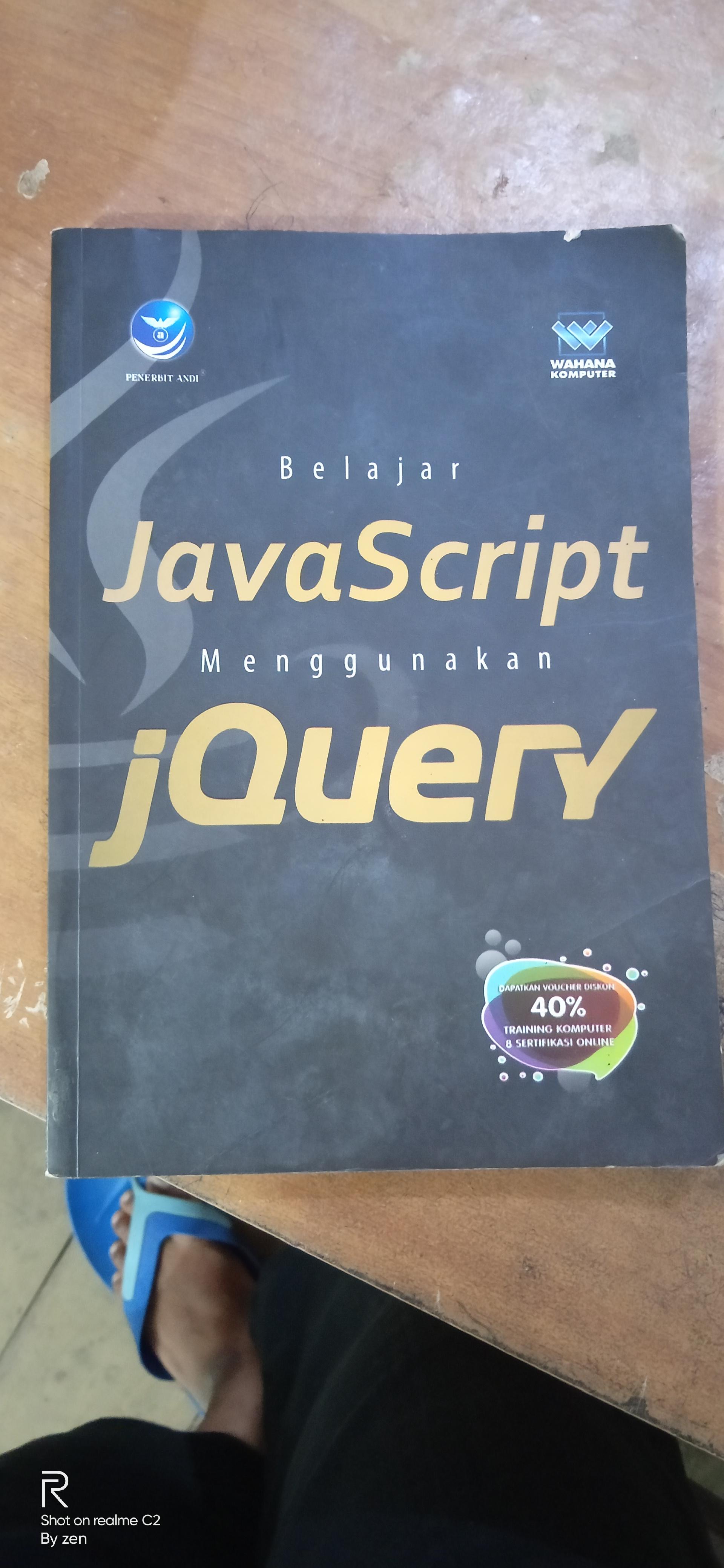 Belajar Javascript Menggunakan Jquery