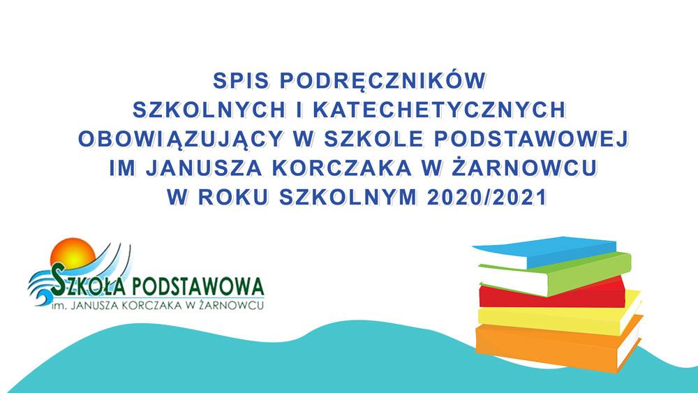 Spis podręczników 2020/2021