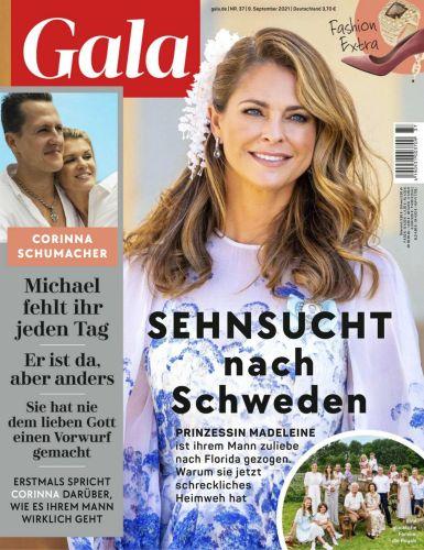 Cover: Gala Magazin No 37 vom 09  September 2021