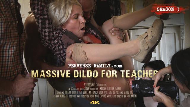 教師のための大規模なディルド