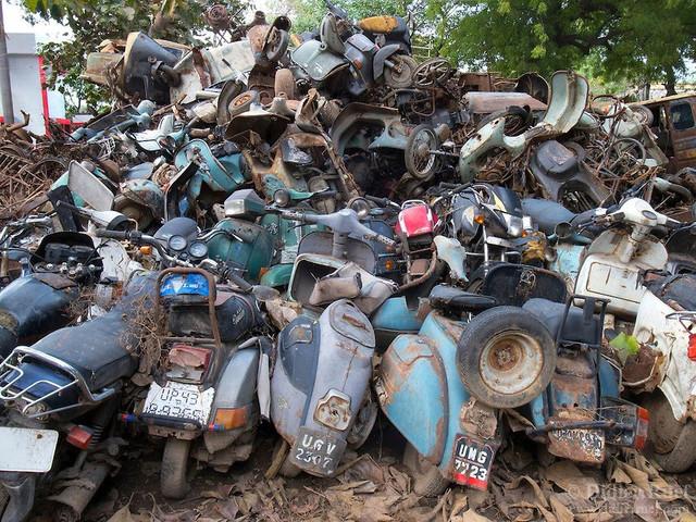 Лом автомобили, мотоциклы, мопеды, скутеры