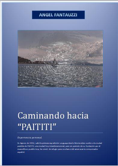 CAMINANDO HACIA EL PAITITI.