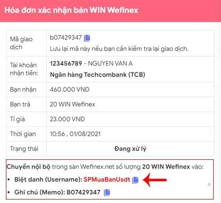 mua ban win trong wefinex