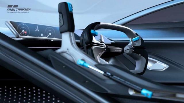 Jaguar Lève Le Voile Sur La Vision Gran Turismo SV : La Voiture De Course 100% Électrique Ultime Pour Les Passionnés De Course Automobile Jag-GTSV-Interior-04-161220