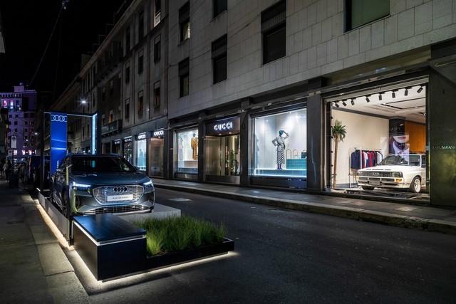 L'Audi A6 e-tron concept à la Milan Design Week A216467-medium
