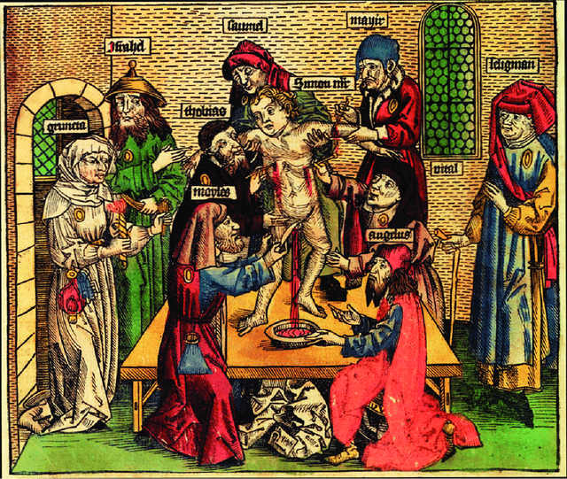 Ritual-Murder-of-Simon-of-Trent-1475-From-Hartmann-Schedels-Liber-Chronicarum
