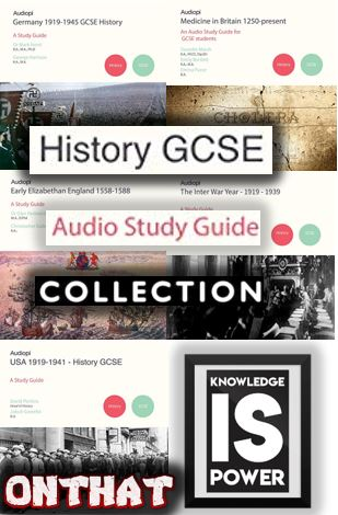GCSE History - Full Audio Guide Collection - Various