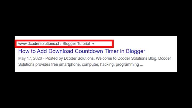 Shorten your URL's