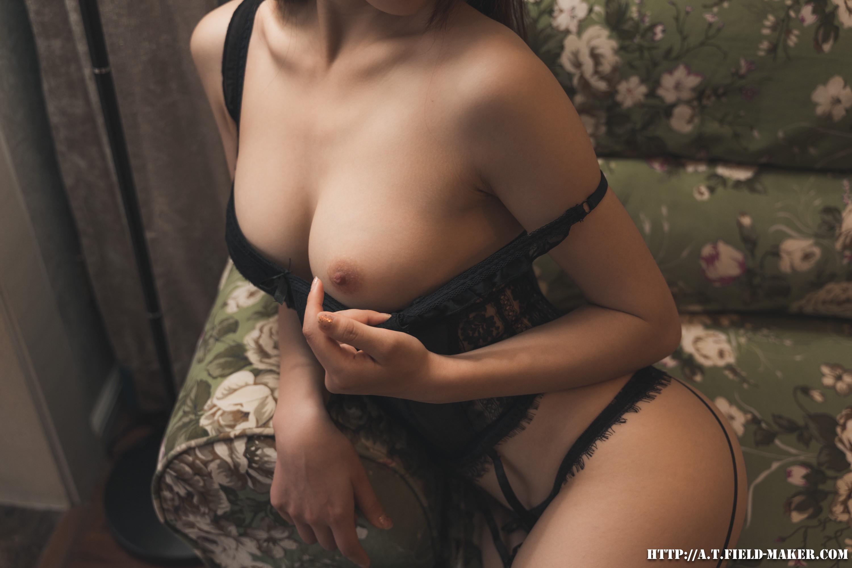 Tsubaki Album vol.015 Black Corset black-corset-21