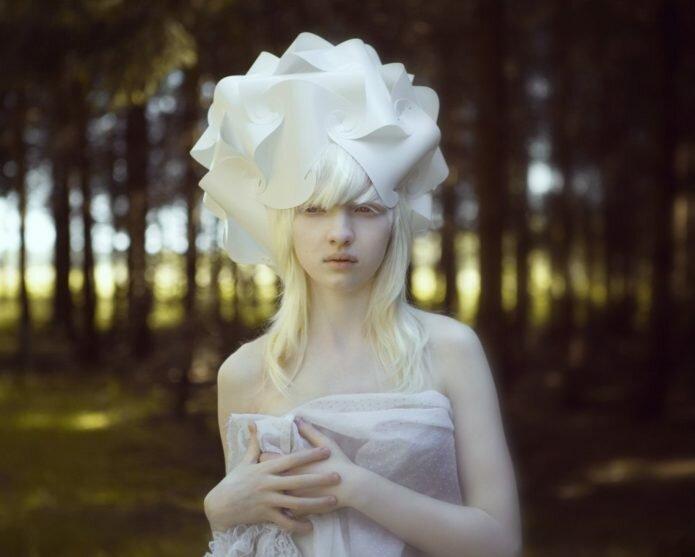 Дети Луны: модели-альбиносы, покорившие мир